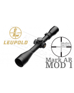 Leupold Mark AR MOD 1 3-9x40mm P5 Dial Riflescope, Matte Black, FireDot TMR Reticle 115370