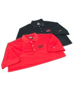 G2 Nike Dri-Fit Golf Shirt Red (Large)