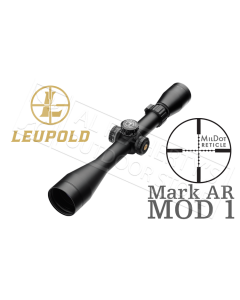 Leupold Mark AR MOD 1 Rifle Scope 3-9x 40mm 1/10 Mil Adjustments Matte